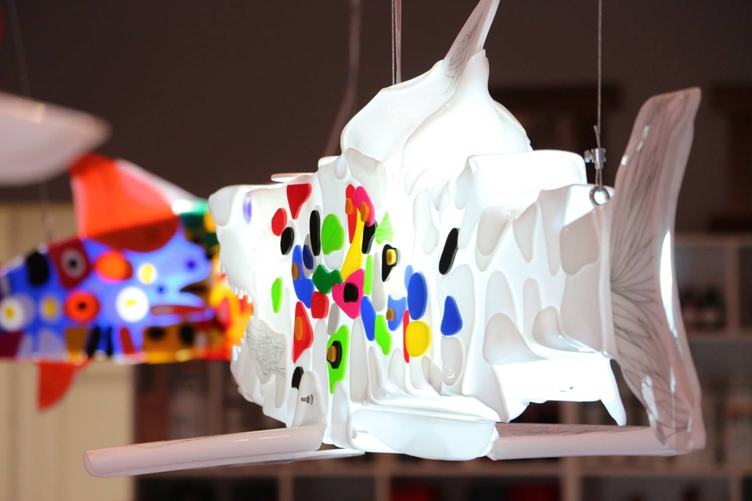 Constant movement is a light sculpture made by Marko Gavrilovic.