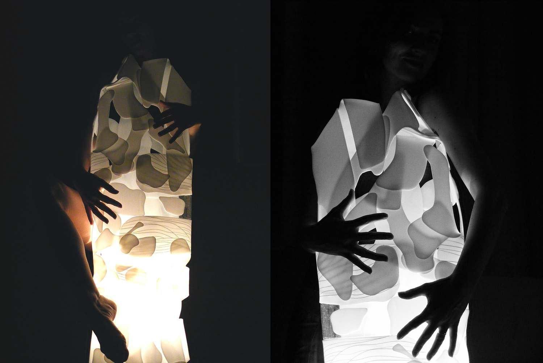 Unique - light sculpture