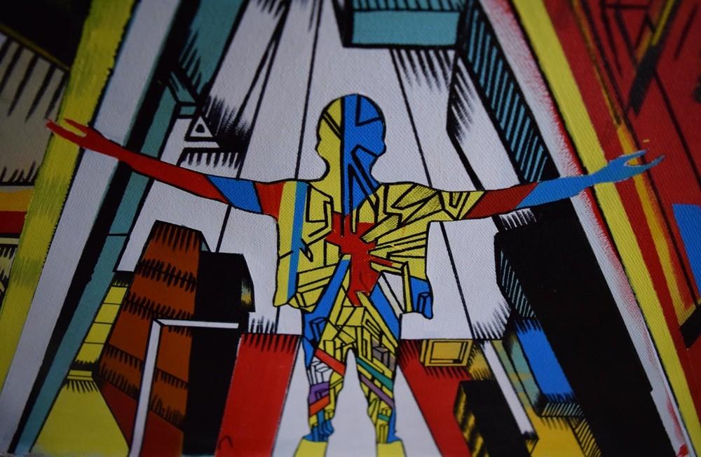 Marko Gavrilovic painting details