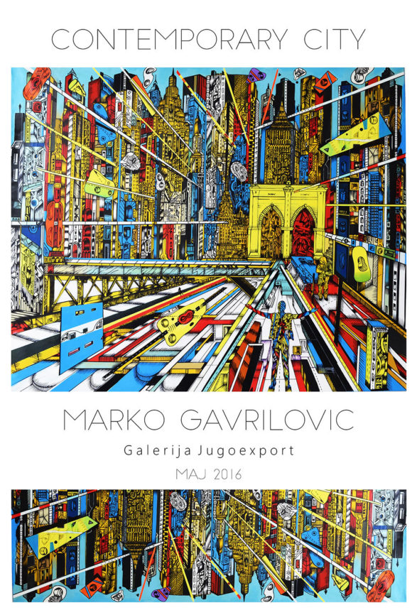 Contemporary City, exhibition Marko Gavrilovic