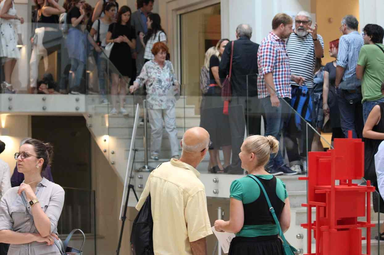 Exhibition Confronti opening