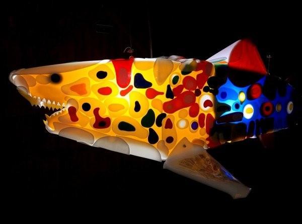Renegade is a sculpture from shark sculptures series
