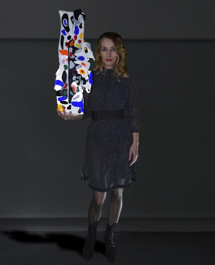 Ivana Ivka, light sculptures, symbiosis