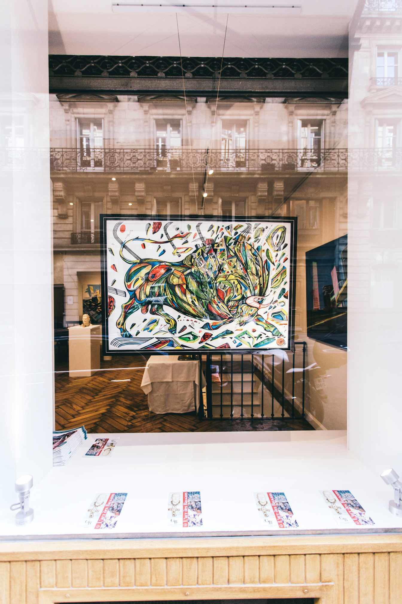 L'art des Balkans at Galerie Boris, Marko Gavrilovic
