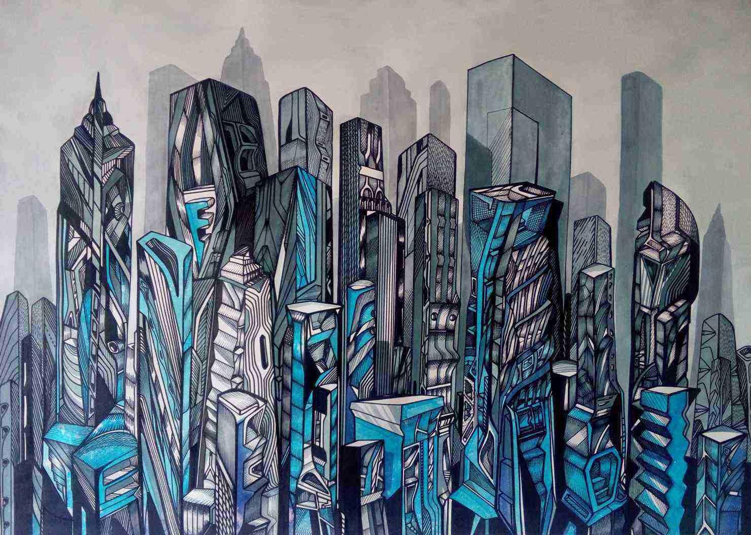 Urban city series by Marko Gavrilovic