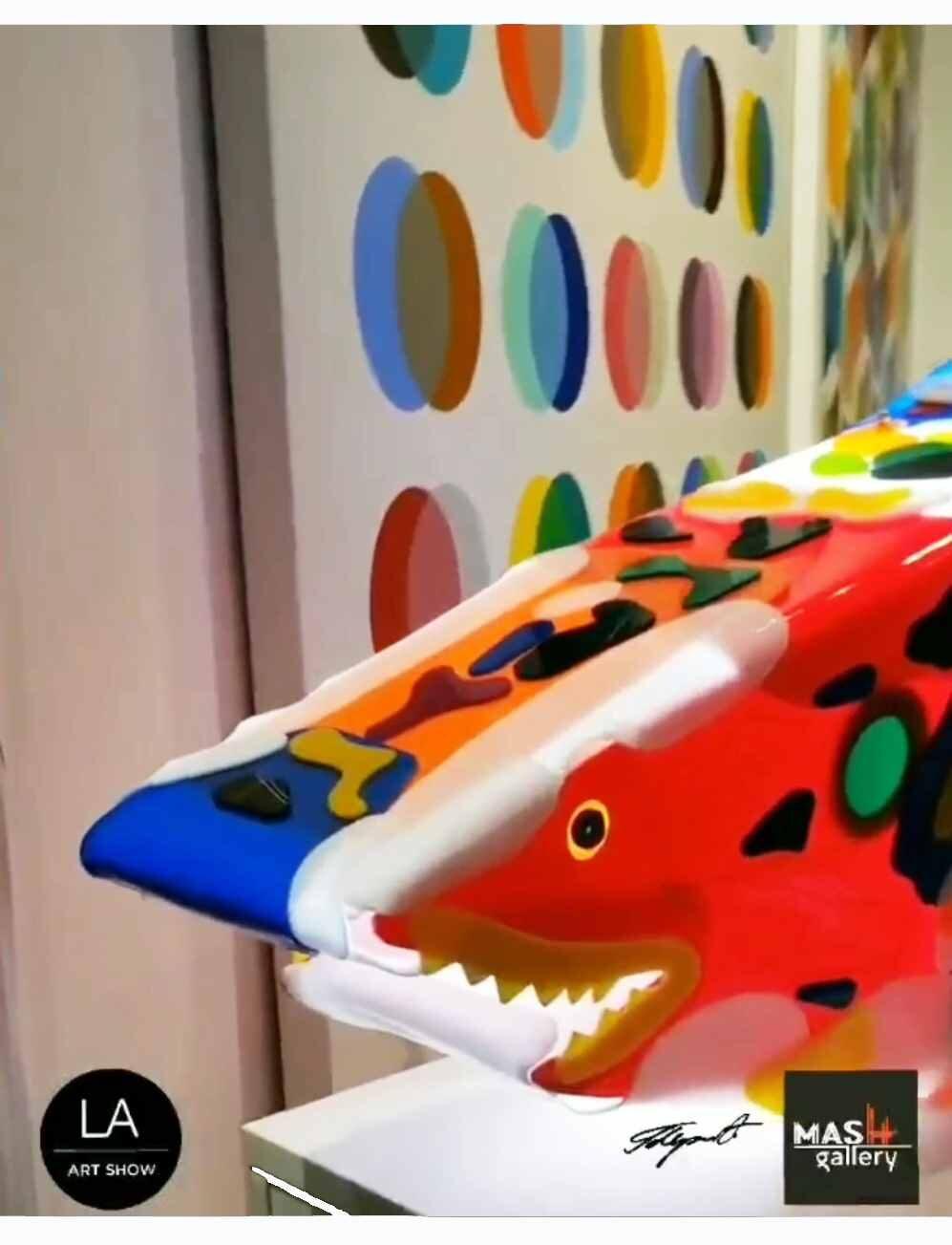 LA Art show 2021, Mash Gallery booth
